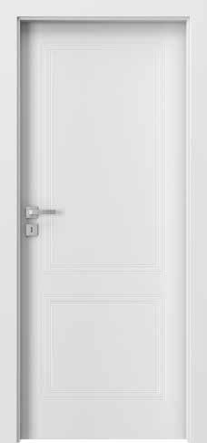 Porta VECTOR Premium V, Alb