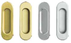 Mâner lateral pentru uşi glisante: culori: auriu, auriu mat, argintiu, argintiu mat