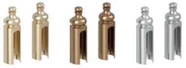 • Capace pentru balamale Villadora (set pentru 1 buc): • auriu lucios, auriu antichizat, argintiu lucios
