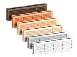 Grilă de ventilaţie (diferite culori) Grilele de ventilație asigură condițiile de aerisire a băilor în conformitate cu regulamentele în vigoare în domeniul construcțiilor.