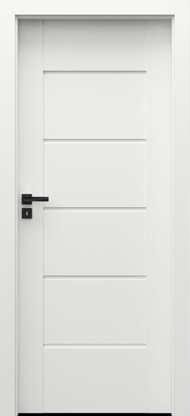 Porta Verte PREMIUM E.5, Alb